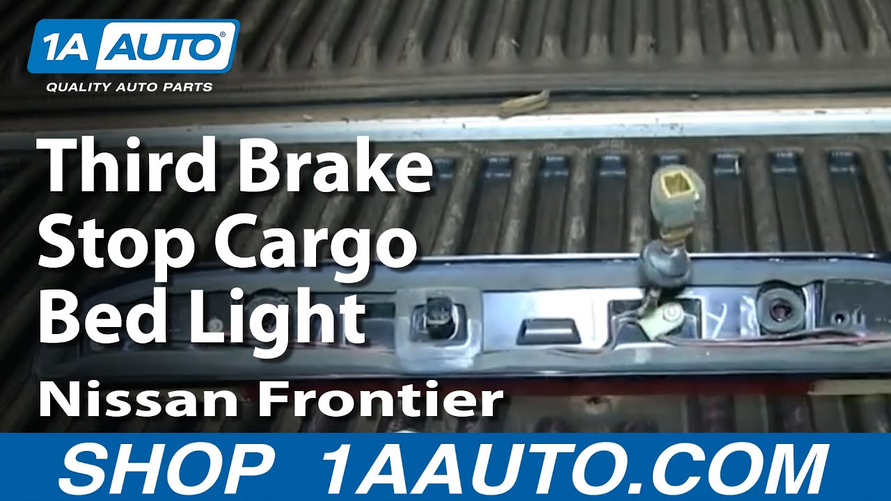 how to service replace third brake stop cargo bed light nissan titan trailer wiring harness diagram 2006 Nissan Titan Wiring-Diagram