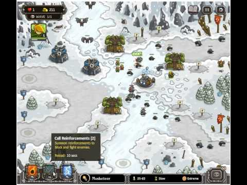 Kingdom Rush Ha'kraj Plateau Iron Challenge Walkthrough