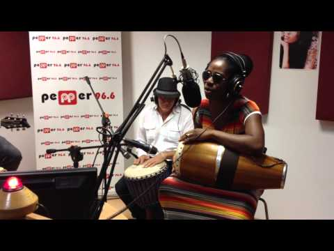 Iyeoka - Simply Falling live on Radio Pepper 96.6 in Athens, Greece