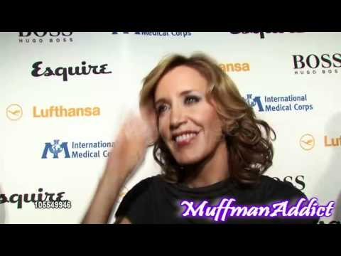 Felicity Huffman At International Medical Corps- Interview