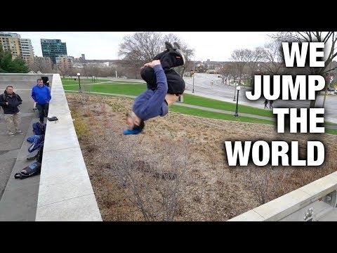 Ottawa Parkour  - We Jump The World Day 2018