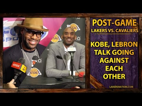 Kobe Bryant & LeBron James On How Playing Against Each Other Has Changed