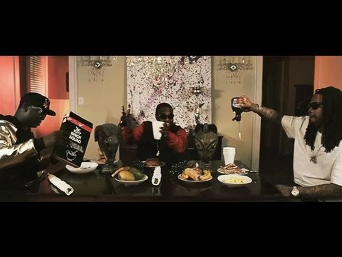 Gucci Mane ft. Waka Flocka & PeeWee Longway - Breakfast [Official Video]