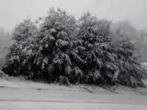 Thundersnow Morristown, TN 1/17/2013