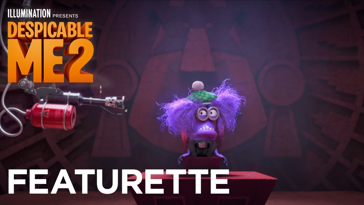 Despicable Me 2 El Macho Purple Monster