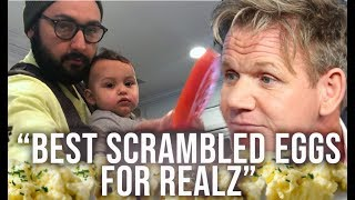 The Best Scrambled Eggs - inspired by Gordon Ramsay