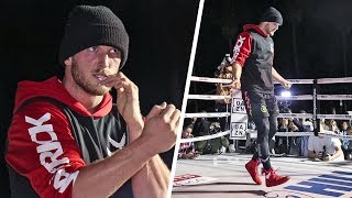 Logan Paul - FULL L.A PUBLIC WORKOUT ahead of KSI Rematch Clash