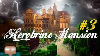 Herobrine's Mansion Minecraft Scary Adventure #3 Die Skeleton King Dieee