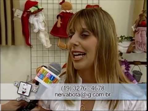 Ateliê na Tv - Tv Século - 08-12-12