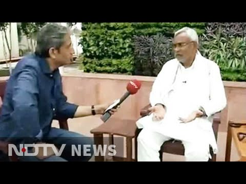 'BJP trying to import beef issue into Bihar': Nitish Kumar to NDTV