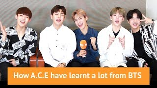 Download Lagu How A.C.E have learnt a lot from BTS Gratis STAFABAND
