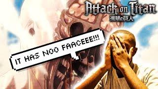 IT HAS NO FACEEE!!!!!   ATTACK ON TITAN SEASON 3 EPISODE 9 REACTION – ANIME3