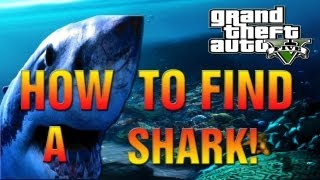 GTA 5 - How To Find A Shark And Get Out Of Your Depth Achievement Unlocked - 5G! (GTA V Gameplay)