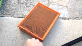 BMW E39 5-Series Inline 6 Engine Air Filter Replacement DIY