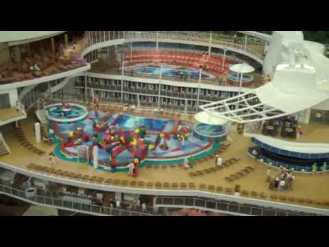 oasis of the seas ship tour