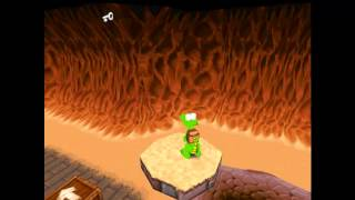 Croc Legend of the Gobbos [PC] 100% - Level 3-2 Mud Pit Mania