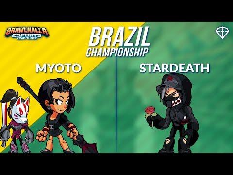 Myoto vs StarDeath - BRZ 1v1 Top 8 - Brazil Championship