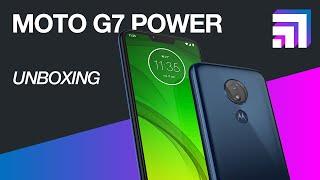 Motorola Moto G7 Power: unboxing e primeiras impressões