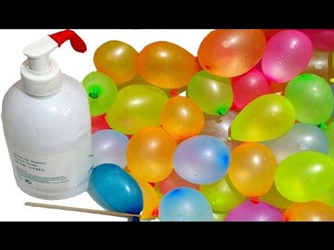 Globos de agua: truco para llenar y cerrar. Juegos de verano | Ideas FACILES DIY