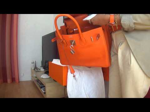 UNBOXING MY NEW BAG BIRKIN Hermès