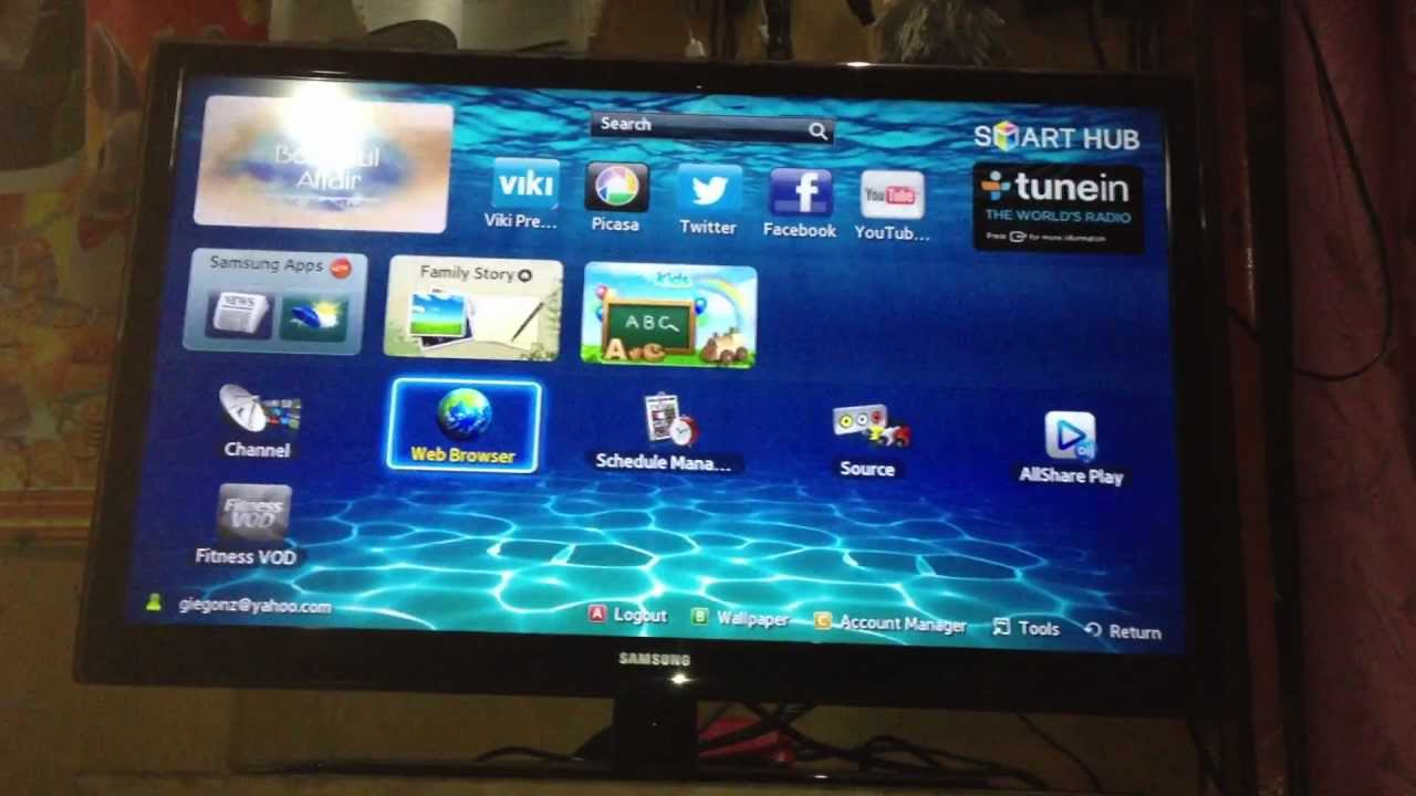 Samsung Smart Tv 32inch Youtube