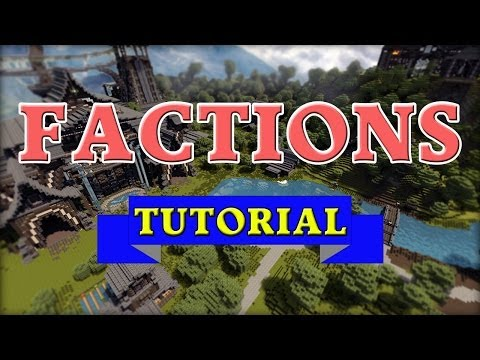 How to install and use Factions for your server!