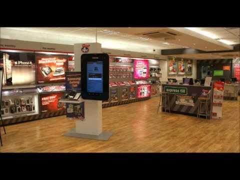 Award Winning retail design for Mobile & Telecoms