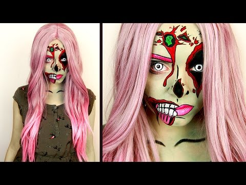 How to zombie makeup