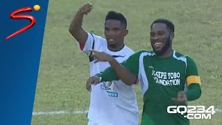 Jay-Jay Okocha Magic Moments [Individual Highlights] Joseph Yobo Testimonial Match 2016