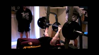 Dean Clifford's 142.5kg Record Bench Press