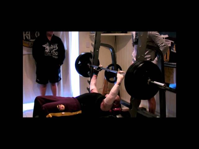 Dean Clifford's 142.5kg Record Bench Press