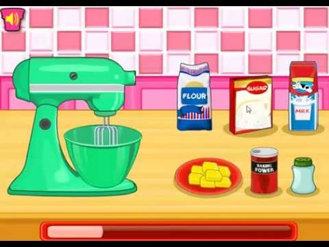 ice cream cone cupcakes - cooking games