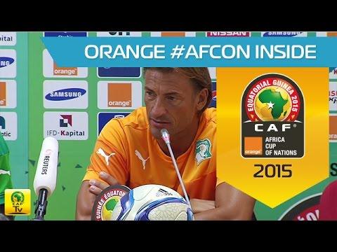 Côte d'Ivoire - Conférence de Presse 19/01 - Orange Africa Cup of Nations, EQG 2015