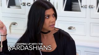 KUWTK | Kourtney Kardashian Conflicted Over Scott