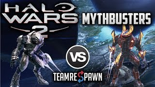 Arbiter vs Elite Honor Guard - Which is Better?   Halo Wars 2 Mythbusters