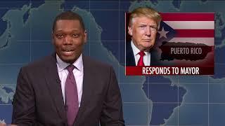 """Saturday Night Live calls Trump a """"white cracker"""""""