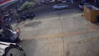 Man in hospital gown seen stealing SUV in New Orleans
