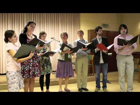 Anah Halach Dodeich (by Gil Aldema, text from Song of Songs 6:1-2, Arr. Stephen Richards)