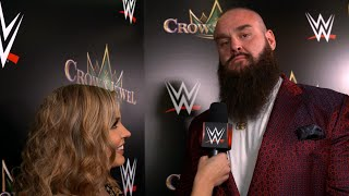 "Braun Strowman reveals ""skull-toughening"" prep for Tyson Fury: WWE Exclusive, Oct. 11, 2019"