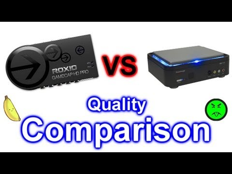 Roxio Game Capture HD Pro vs Hauppauge 1212 HD PVR Comparison