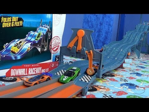 Hot Wheels Downhill Raceway Race Set Product Review (Wavy Pick List)