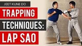 Bruce Lee's Jeet Kune Do Trapping Techniques - Lap Sao