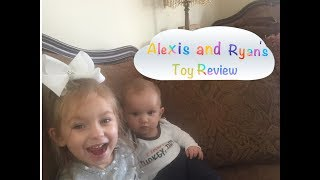 Alexis and Ryan's Toy Review/DC Super Hero Girls action figures