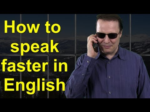 How To Speak Faster In English - Learn English Live 15 With Steve Ford video