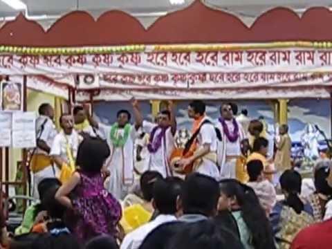 Annual Day-long (udoy-osto) Harinam Chanting (kirton) 2013  Bangladesh Canada Hindu Mandir (temple) video