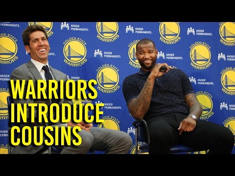 Cousins excited to play for Warriors, get to playoffs