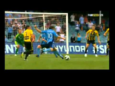 Del Piero AMAZING FOUR GOALS | FC SYDNEY vs WELLINGTON 7-1 19-1-2013 | HD