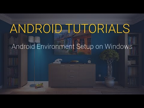 4. Android Environment Setup On Windows