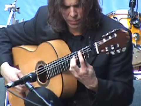 Corey Whitehead - Flamenco Guitar Performance @ NAMM 2009
