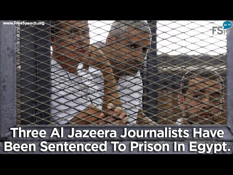 Global Outcry After 3 Al Jazeera Reporters Sentenced to 7-10 Years